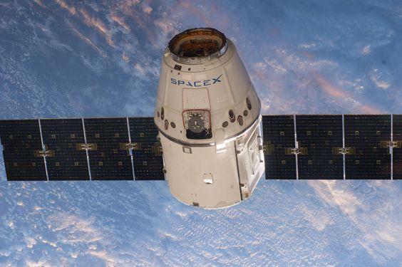 cápsula de carga SpaceX Dragón