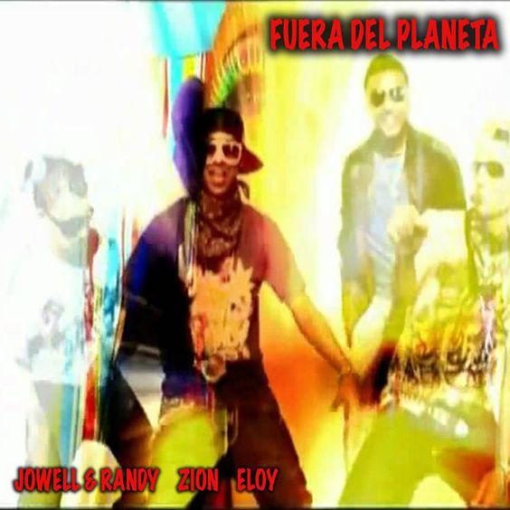 Eloy, Jowell & Randy – Fuera Del Planeta (single cover art)