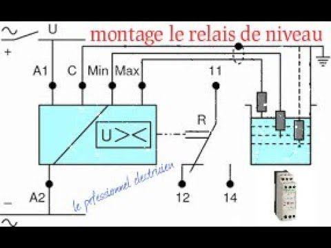 Relais De Niveau شرح مبسط Engineering Floor Plans Diagram