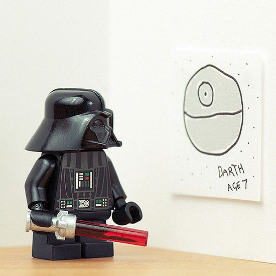 An Artist makes Lego Star Wars magic!