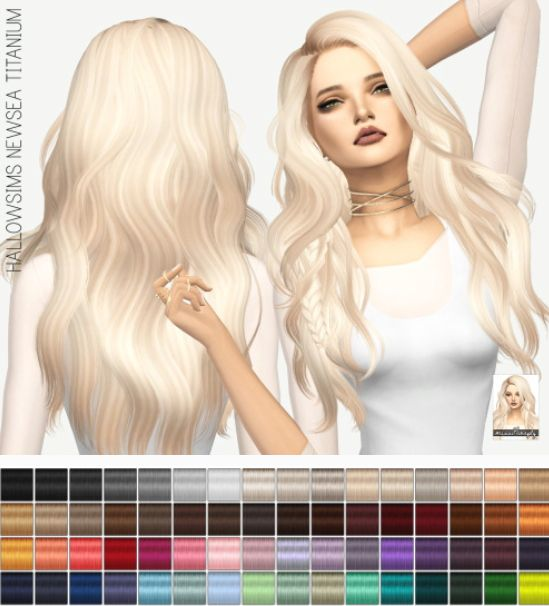 Miss Paraply: Newsea`s Titanium: solids • Sims 4 Downloads: