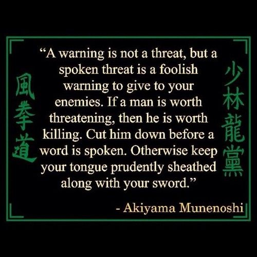 Zen samurai and zitate on pinterest for Zitate bushido