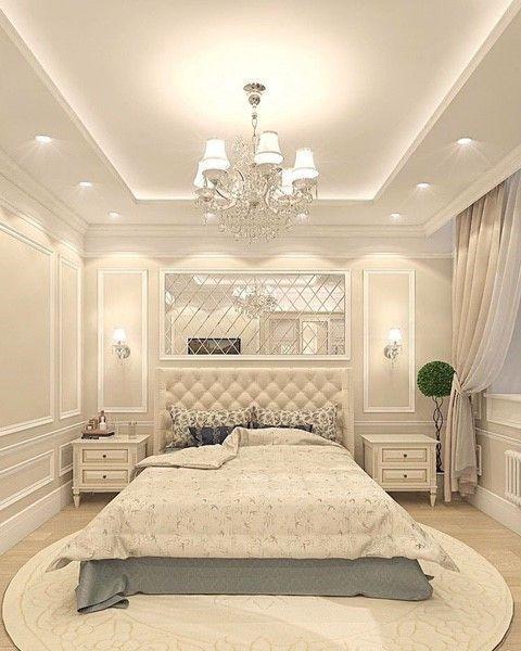 41 Romantic Master Bedroom Decor Ideas On A Budget Rengusuk Com In 2020 Luxury Bedroom Master Ceiling Design Bedroom Luxurious Bedrooms