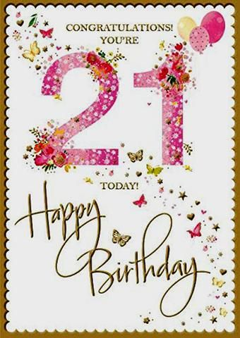 21st Birthday Card Female 21st Birthday Card Female Girls 21st Birthday Card Gree Happy 21st Birthday Cards 21st Birthday Cards Happy 21st Birthday Quotes