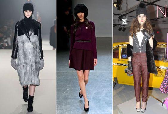 Gorrinho é hit na Semana de Moda de Nova York. Vai aderir no inverno 2013?