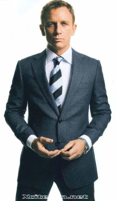 Daniel Craig, best known as the current James Bond.