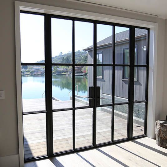Pin By Ninny Pee On Homes Double Doors Exterior Steel Doors Exterior Metal Doors Exterior