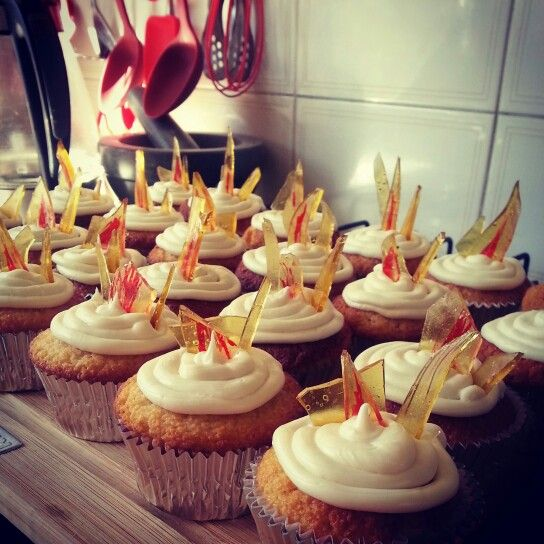 Ice Fire And Cupcake On Pinterest