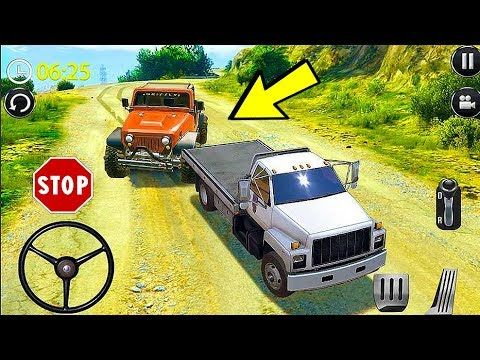 Offroad Mountain Jeep Driving Adventure 4x4 Jeep Car Driver