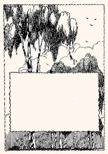 Tree frame by katinthecupboard, via Flickr