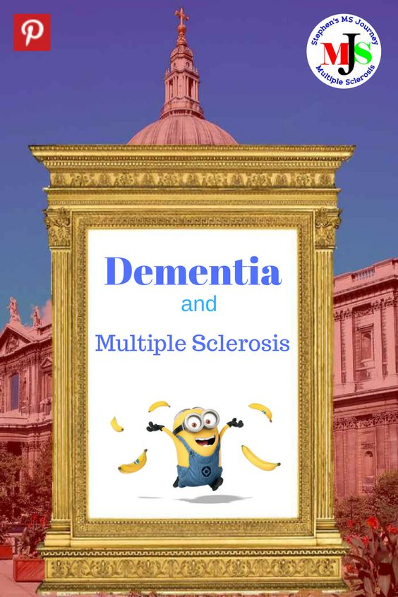 Are the cognitive problems of advanced multiple sclerosis a form of dementia?