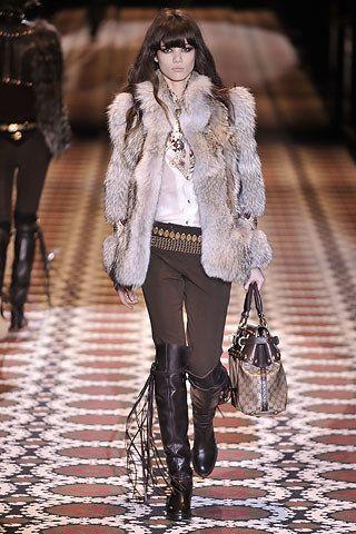Gucci Fall 2008 Ready-to-Wear Fashion Show - Sheila Marquez