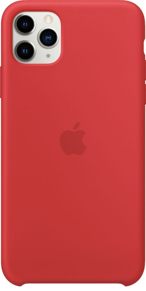 Apple Iphone 11 Pro Max Silicone Case Product Red Mwyv2zm A Best Buy Apple Iphone Iphone Leather Case Silicon Case