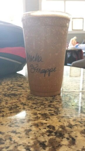 20oz mocha frappe from Cool Beans Coffee Roasters on Marietta Square.
