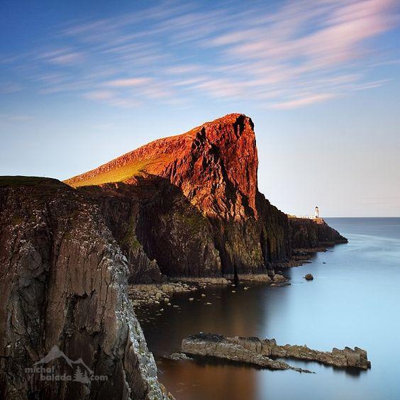 Neist Point Skotsko Scotland Beautiful Places Isle Of Skye
