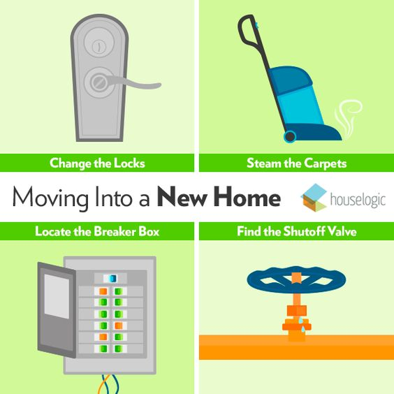 6 Things Everyone Should Do When Moving Into A New House