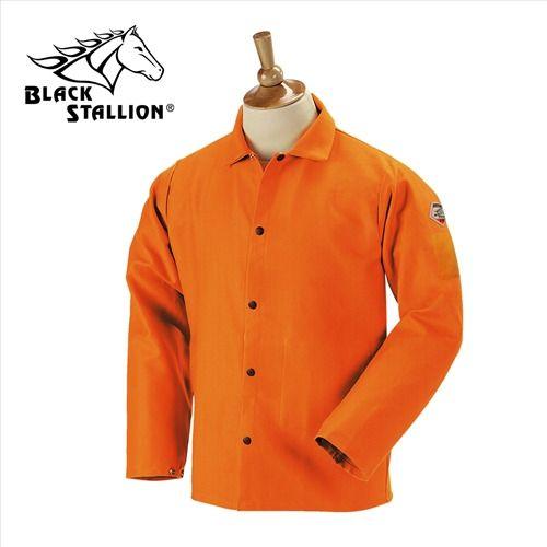 3X-Large Revco Black Stallion Denim 8oz FR Welding Shirt FS8-DNM