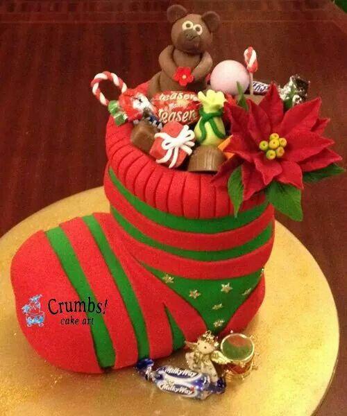 Amazing Christmas time cake!