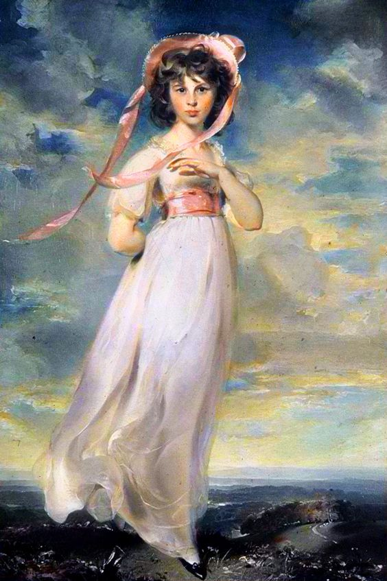 Pinkie is the traditional title for a portrait of 1794 by Thomas Lawrence in the permanent collection of The Huntington at San Marino, California where it hangs opposite The Blue Boy by Thomas Gainsborough. These two works are the centerpieces of the institute's art collection, which specializes in 18th-century English portraiture. The painting is an elegant depiction of Sarah Barrett Moulton, who was about eleven years old when painted.