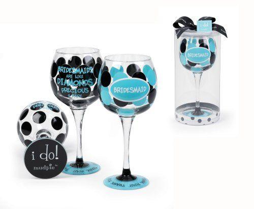 """Bridesmaid Thank You"" Polka Dot Wine Glass Gift Boxed (Qty.1) null,http://www.amazon.com/dp/B001VEC322/ref=cm_sw_r_pi_dp_KLK0sb1CZ79VN3VB"