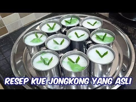 Resep Kue Jongkong Yang Sebenarnya Cocok Untuk Menu Buka Puasa Youtube Resep Kue Kue Resep