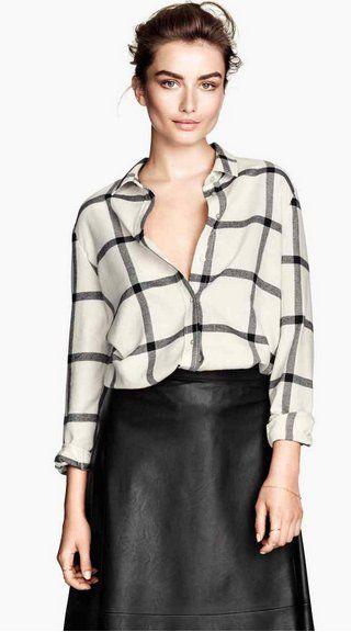 Pin for Later: Shopping: Vous Ne Croirez Jamais Que Ces Vêtements Viennent De Chez H&M H&M Chemise en Flanelle H&M Chemise en Flanelle (20€)