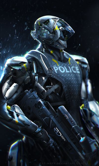 Robocop by cat-meff on deviantART