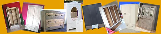 In de Wijde Wereld heeft mooie kledingkasten, commodes, vitrinekasten en boekenkasten van Bopita, Alta en steigerhout