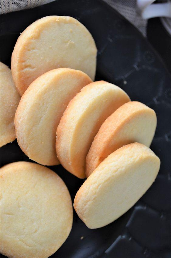 Small Batch Shortbread Cookies