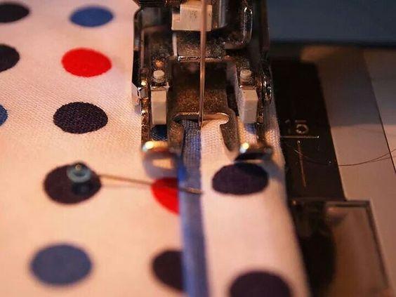 Double quilt binding