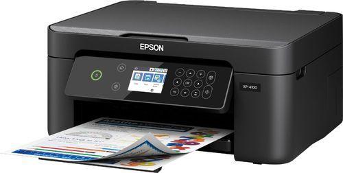 Epson Expression Home Xp 4100 Wireless All In One Inkjet Printer Black Epson Xp 4100 Printer C11cg33 Best Buy In 2021 Best Inkjet Printer Inkjet Printer Inkjet