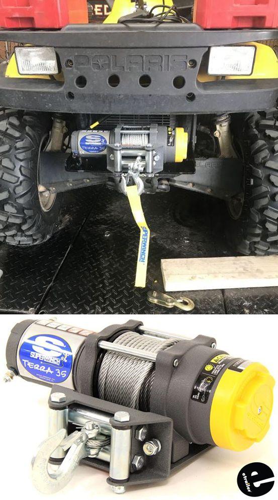 UNIVERSAL HEAVY DUTY ATV ROLLER FAIRLEAD FOR WINCH FREE WINCH GUARD