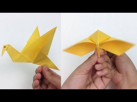 How to Make Origami Flying Birds - Friday Fun - Aunt Annie's Crafts | 360x480