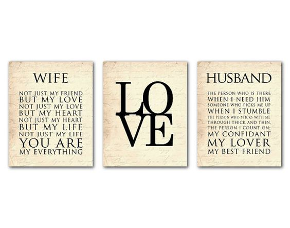 Wedding Gift For Husband To Be: Typography Love, Love Anniversary And Typography On Pinterest