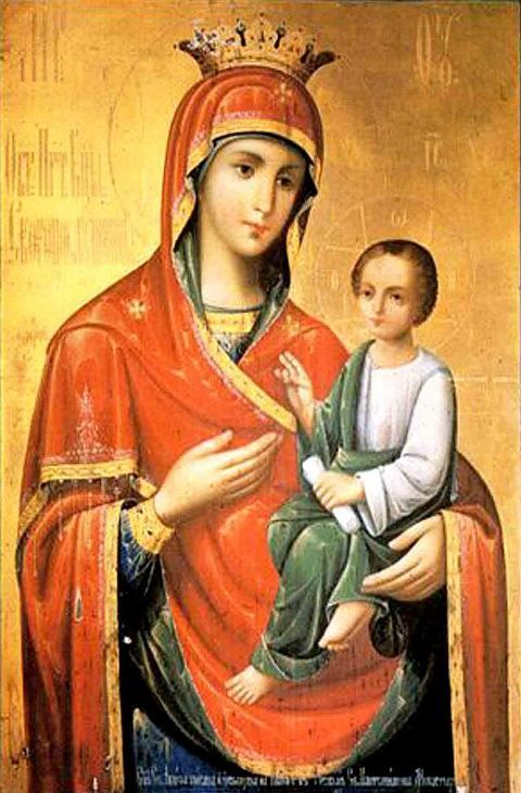 "Icon of the Mother of God ""Quick to Hear"""