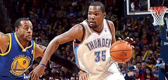54! Durant explodes for career-high as Thunder beat Curry, Warriors