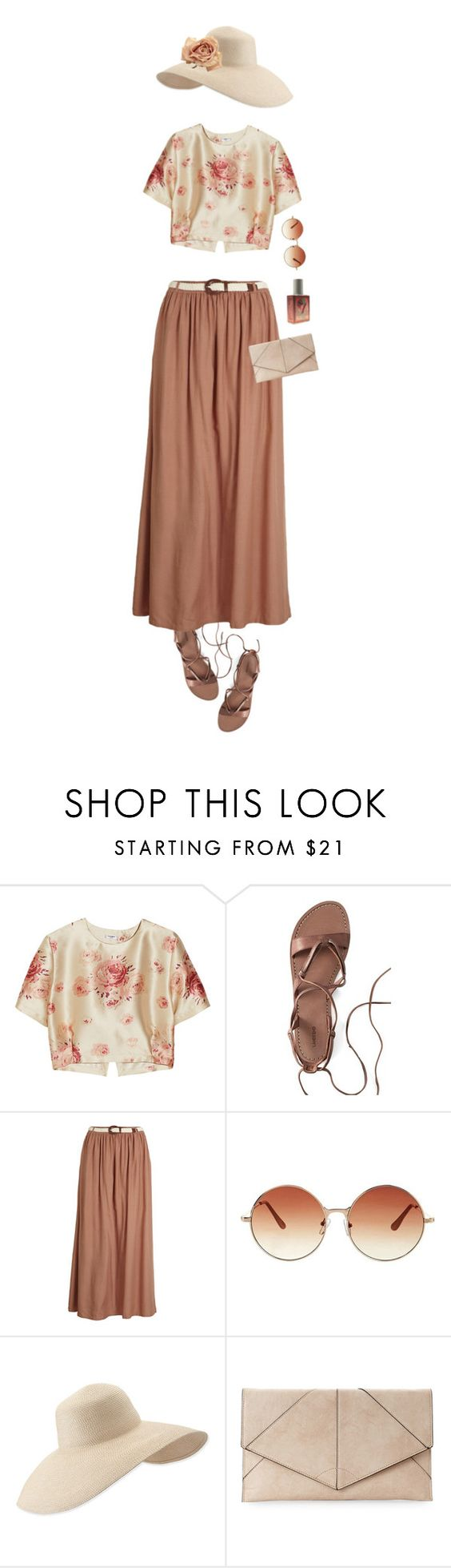 """""""Yesterday Haze"""" by ladomna ❤ liked on Polyvore featuring Vilshenko, Canvas by Lands' End, Object Collectors Item, Topshop, Eric Javits, Urban Expressions and Haze"""