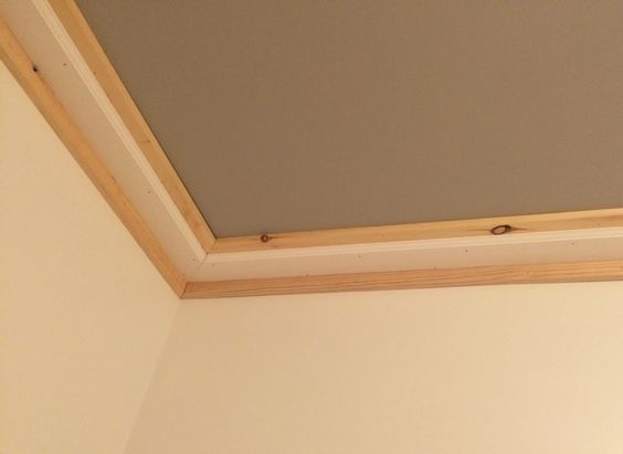 Don T Forget This In Your Next Makeover Ceiling Trim Diy Crown Molding Moldings And Trim