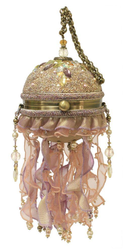 Mary Frances Bags Resort 2014 Jelly Dance Ocean Bag Sea Bead Purse Handbag NEW #MaryFrances #EveningBag: