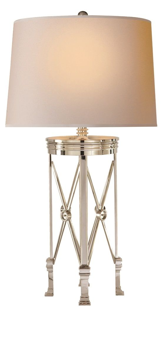 Table Lamps Designer 31 Tall Polished Nickel French Directoire Lamp So Elegant Inspire Your