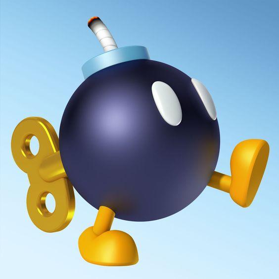 Bob-omb / Mario Kart 8 / Nintendo WiiU #MarioKart8 #WiiU #NintendoWiiU #MarioKart #Nintendo #Carreras #Cars #Speed #Races #Race