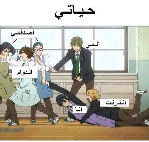 نكت انمي 18 Anime Memes Funny Funny Photo Memes Otaku Funny