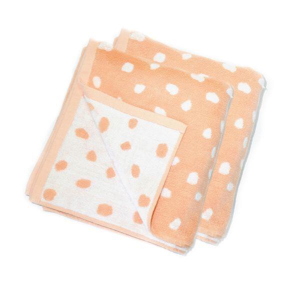 Terry Hand Towel Rocks Set Of 2