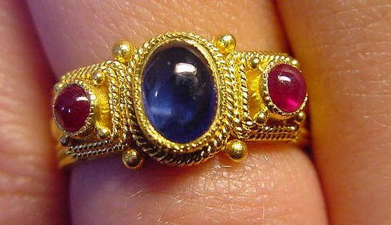 Photo-Byzantino jewelry- Ring 15
