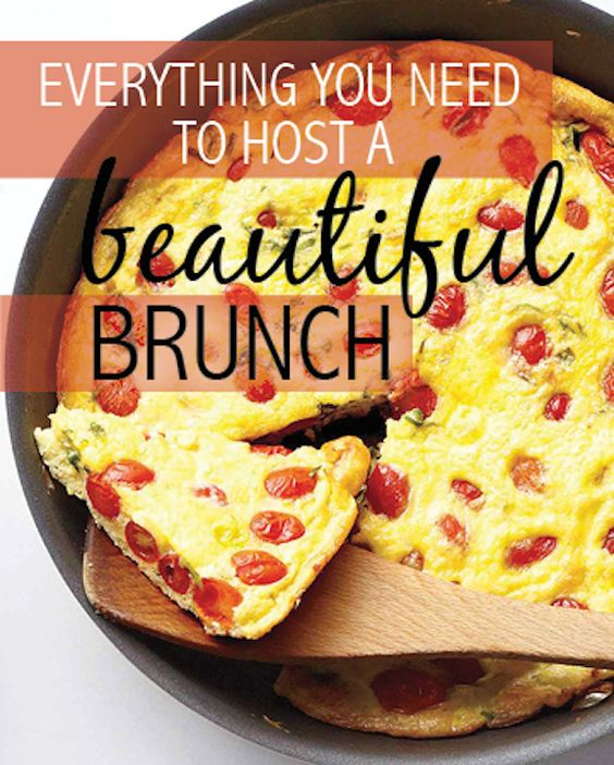 Where do you find some foods you can serve for brunch?