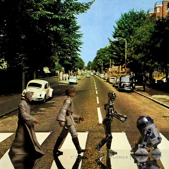 Star Wars Abbey Road