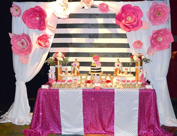 Kate Spade Decorating Tips: Kate Spade Baby Shower Party Ideas