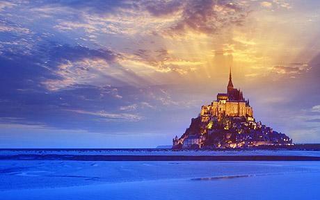 Mont Saint Michel. Crazy. But marvellous.