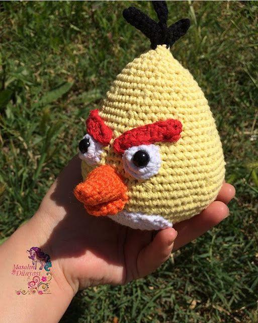 Chuck the Angry Bird - Free Amigurumi Pattern - PDF File click ...   640x513