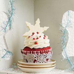 Red Velvet Cupcakes  Christmas Desserts